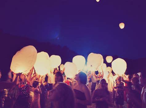 les lanternes volantes soir 233 e de mariage mariage animation pour un mariage mariage