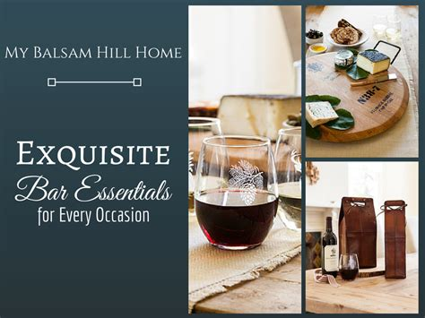 Bar Essentials by Home Bar Essentials Balsam Hill