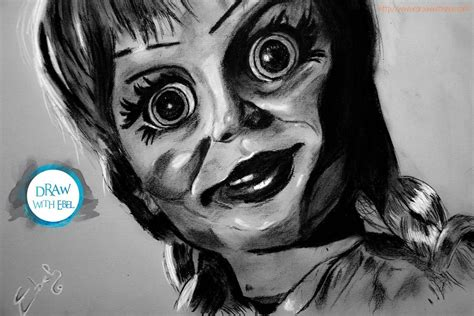 Annabelle Horror Movie By Drawwithebel On Deviantart
