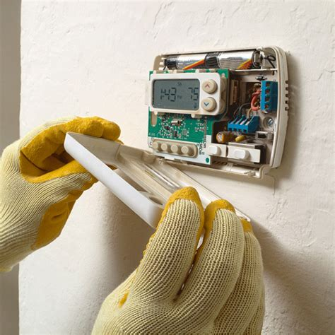 Installing Single Double Pole Thermostat