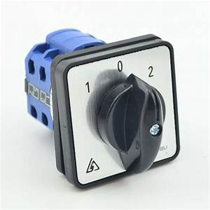 Rotary Changeover Switch 600v 20a 1