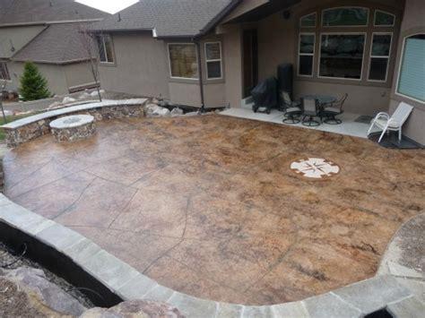 concrete patio denver image sted concrete patios