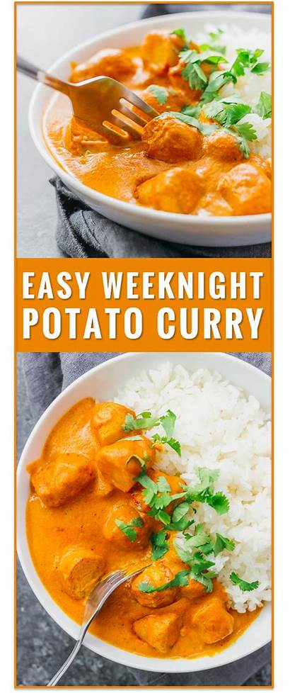 Vegetarian Recipes Potato Healthy Curry Indian Easy
