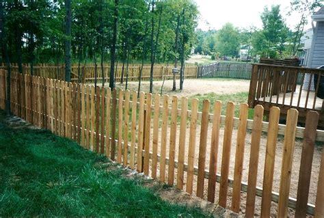 Fence. Awesome Wood Picket Fences