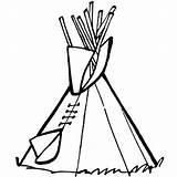 Tipi Indianer Cowboy Coloring Drawing Pages Westen Wilder Colouring Ausmalen Zum Cowboys Colour Sketch Bilder Dibujos Template Zu Pee Tee sketch template