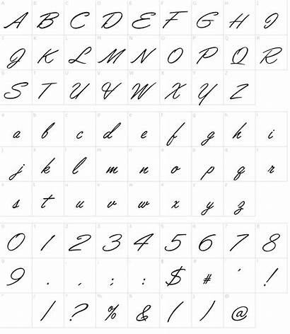 Font Lisbon Script Fonts