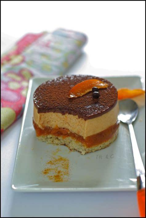 entremets abricot fleur d oranger chocolat pistache pignon pour prolonger la saveur de l
