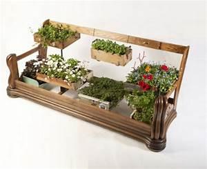 Alte Möbel Auffrischen Holz : recycelte m bel als pflanzen beh lter verwendet von designer duo ~ Sanjose-hotels-ca.com Haus und Dekorationen