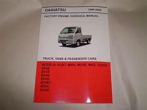 Daihatsu Hijet Mini Truck English Engine Repair Manual For