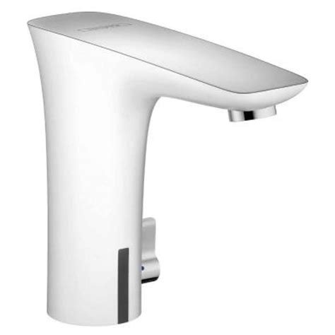 hansgrohe puravida electronic touchless lavatory faucet in