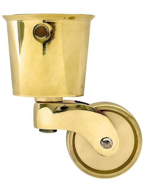 antique furniture casters brass furniture casters solid brass cup caster with 1269