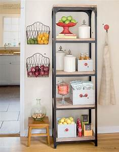 Our new obsession hanging fruit baskets for What kind of paint to use on kitchen cabinets for what is mounted wall art
