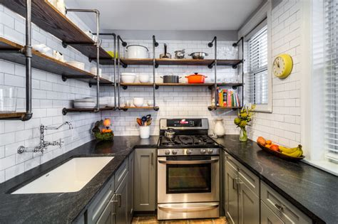 Vintage Galley  Eclectic  Kitchen  Chicago By