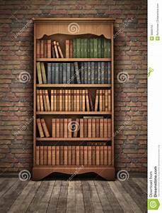 Altes Bcherregal Im Raum Stockfotos Bild 30680753
