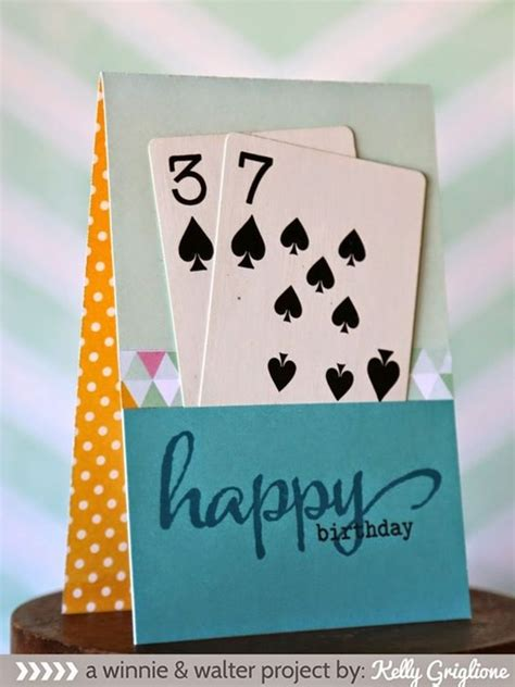 easy  minute diy birthday cards