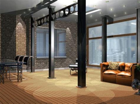 et decoration chambre décoration interieur loft industriel