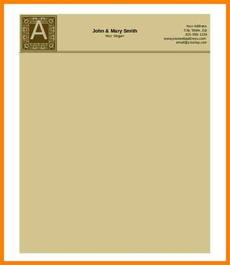 Free Resume Letterhead Templates by 4 Free Letterhead Templates Microsoft Word Artist Resumes