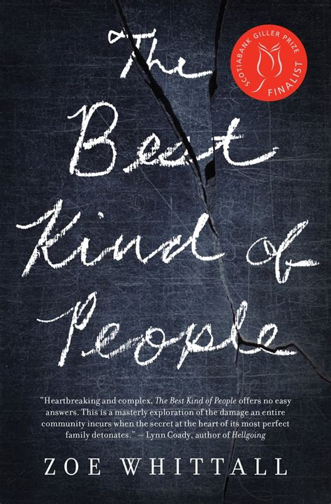 The Best Kind Of People  House Of Anansi Press
