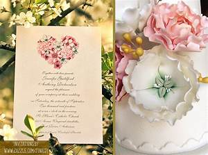 VINTAGE WEDDING INVITATION WITH FLORAL HEART – NEED