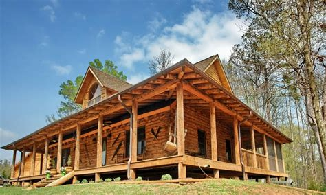rustic house plans  wrap  porches rustic house
