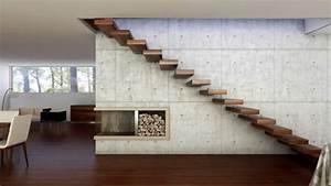 Wohnung Mit Treppe : freitragende treppe coole ideen ~ Bigdaddyawards.com Haus und Dekorationen