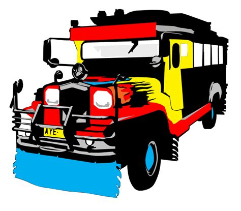philippine jeep clipart jeepney side view vector www pixshark com images