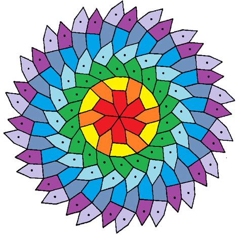 pentagonal tiling of the plane file hirschhorn 6 fold rotational symmetry pentagonal