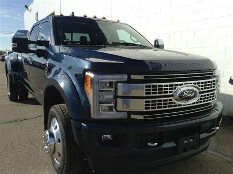 2019 Ford F 450 by 2019 Ford Superduty F 450 Platinum Blue 6 7l Power
