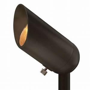 Hinkley lighting 12 volt 5 watt led landscape spot light for Home depot 12v outdoor lighting