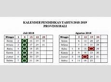 Download Kalender Pendidikan Provinsi Bali Tahun 20182019