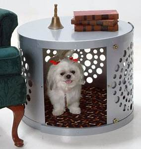 product With round dog crate
