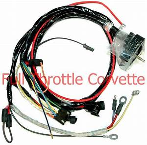 1968 Corvette Engine Wiring Harness New
