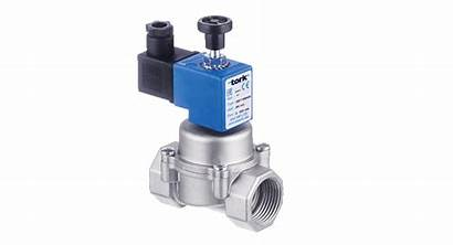 Valve Gas Solenoid Manual Reset Open Normally