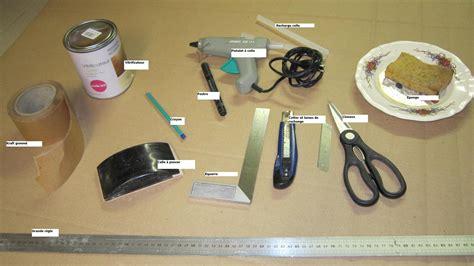 Fabrication D'un Meuble En Carton  Materiel Nécessaire