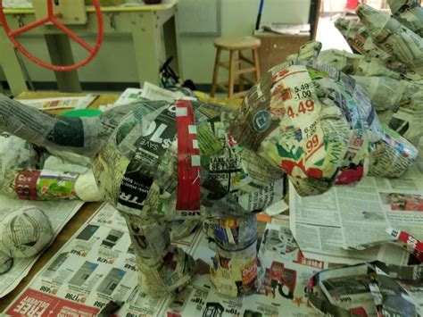 paper mache  gift wrapping gifts paper mache