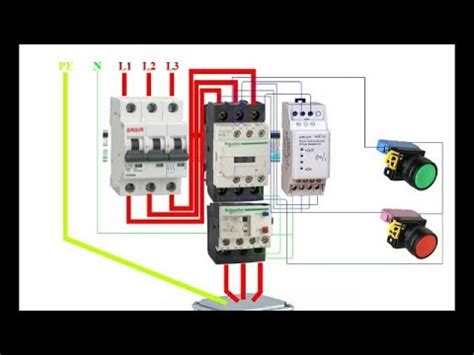 how to wire a phase failure relay device phase sequence
