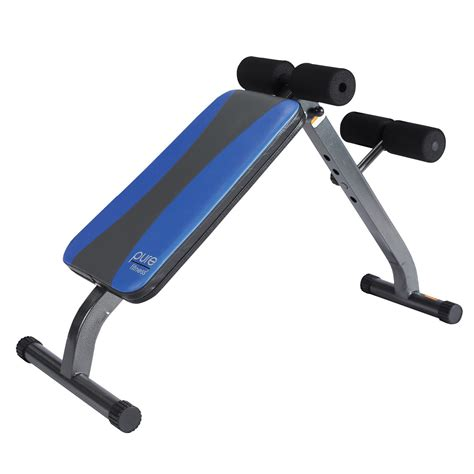 Pure Fitness Ab Crunch & Situp Bench  Weight Benches At