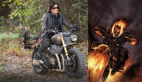 The Walking Dead's Norman Reedus Wants To Play Ghost Rider