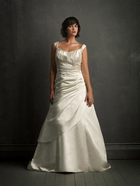 asymmetric tank dress ivory tiered unique gowns plus size wedding dress
