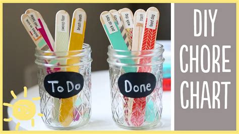 diys to do diy chore charts and easy