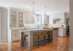 Modern farmhouse kitchen design home bunch interior for Kitchen cabinet trends 2018 combined with create your own wall art online