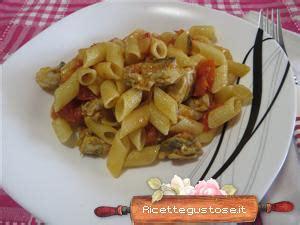 cucinare palamita pennette palamita e pomodorini ricette primi piatti di