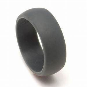 set of two 2 silicone rings mens silicone ring With flexible wedding ring