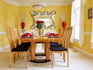 peinture salle a manger 77 idees charmantes With idee deco cuisine avec chaises salle À manger bois et tissu