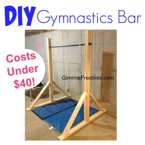 How To Make A Bar by How To Make A Gymnastic Practice Mini Bar At Home