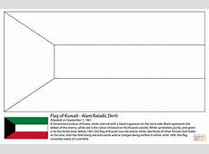 Flag of Kuwait coloring page Free Printable Coloring Pages