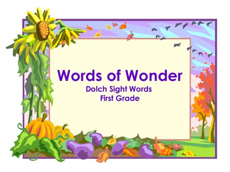 dolch 1st grade words with rhyming words