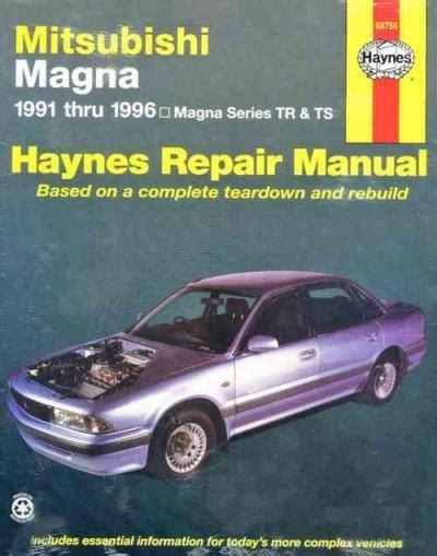 online auto repair manual 1987 mitsubishi starion lane departure warning mitsubishi magna 1991 1996 haynes service repair manual sagin workshop car manuals repair