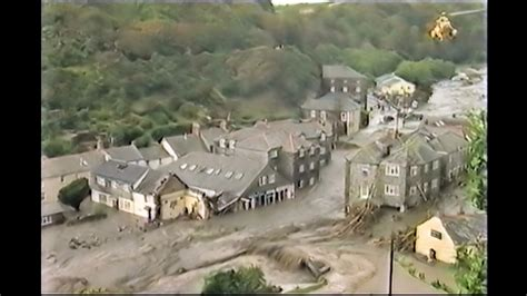 boscastle floods  youtube