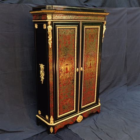 Armoire Napoléon Iii En Marqueterie Boulle  Xixe Siècle